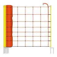 Rete per Pecore VOSS.farming, 50 m, 90 cm, 2 punte, arancione