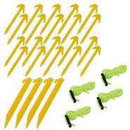 Set di manutenzione per reti Premium VOSS.farming, giallo