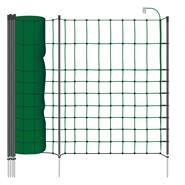 """Rete per piccoli Animali / Conigli VOSS.farming """"classic+"""", 50 m, 65 cm, 20 pali, 1 punta, verde"""