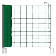 "Rete per Pecore / Capre VOSS.farming ""classic"", 50 m, 108 cm, 14 pali, 2 punte, verde"