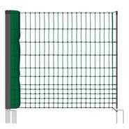 """Rete per Pollame VOSS.farming """"classic"""", 25 m, 112 cm, 9 pali, 2 punte, Non Elettrificabile"""