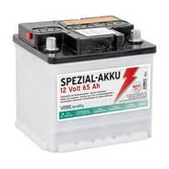 Batteria speciale per elettrificatori 12 V/ 65Ah VOSS.farming, senza acido