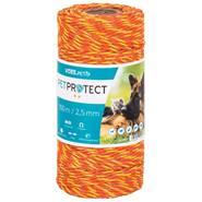 Cavo VOSS.PET, 3x0,20 acciaio inossidabile, 100 m, arancione