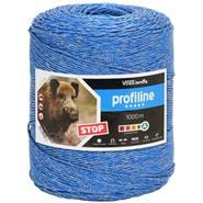 Filo per Recinzioni Elettriche per animali selvatici VOSS.farming 1000m, 3x0,25 rame + 3x0,25 inox, blu