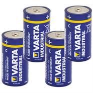 """Batterie da 1,5 V, tipo C, """"Varta Industrial"""" 4 pz"""