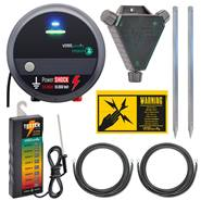 Kit VOSS.farming: Elettrificatore 230 V + tester per recinto + accessori
