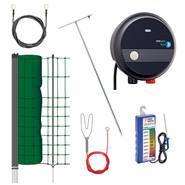 """Kit completo per recinto elettrico """"PetControl"""", con rete per piccoli animali, 50 m, 65 cm"""