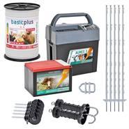 Kit Starter: Recinto elettrico per cavalli VOSS.farming, 9 Volt