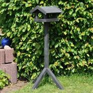 Mangiatoia a casetta per uccelli Tornby, con piedistallo