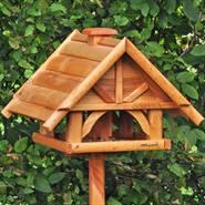 """Casetta per uccelli """"Finkenheim"""" VOSS.garden, Grande, in legno, naturale"""