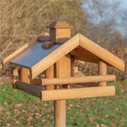 """Casetta per uccellini VOSS.garden """"Grota"""" con piedistallo"""