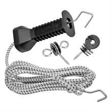 Set maniglia per recinto con corda elastica for Recinto elettrico per capre