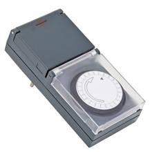 Timer 230 v meccanico ip44 per esterni e interni for Recinto elettrico per capre