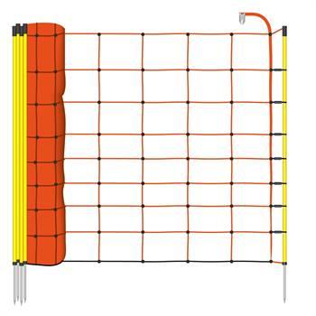Rete per Pecore VOSS.farming, 50 m, 90 cm, 1 punta, arancione