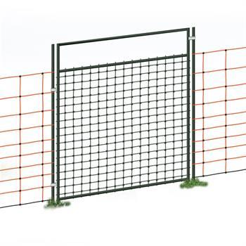 Set Completo di Porta per Recinzione elettrica/Reti, 105 cm