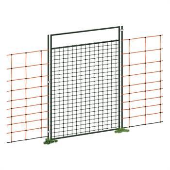 Set completo di Porta per Recinzione elettrica/Reti, 125 cm