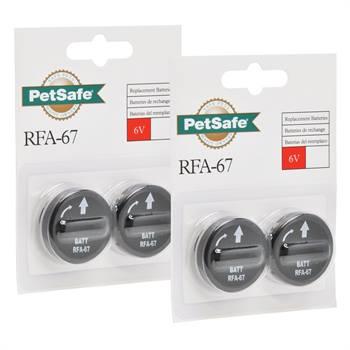 Confezione da 4 pz. Modulo batteria RFA-67 PetSafe