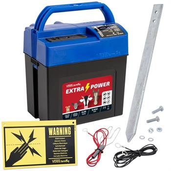 "Elettrificatore a batteria 9 V ""Extra Power 9V"" VOSS.farming"
