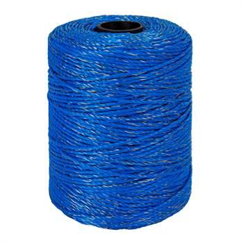 Filo polywire 400 m, con 1x0,25 rame + 8x0,2 acciaio inossidabile, blu