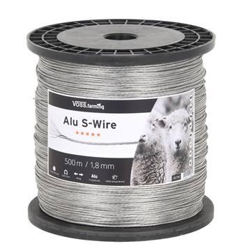 Cavo di alluminio VOSS.farming, Alu S-Wire, 500m, Ø 1,8mm