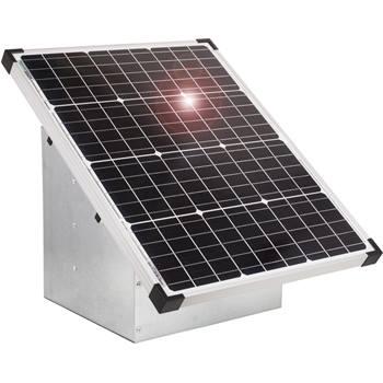 """Kit Sistema ad Energia Solare: Pannello fotovoltaico 55 W VOSS.farming + Scatola """"EcoBox"""""""