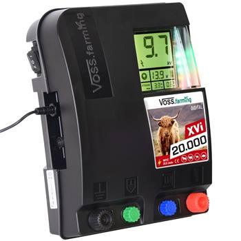 """Elettrificatore 12 V-230 V """"XVi 20.000 DIGITAL"""" VOSS.farming"""