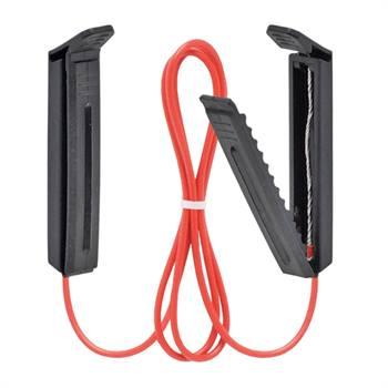 Cavo di collegamento per nastro con clip VOSS.farming, 65 cm, con morsetto in plastica