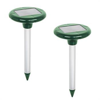 """Scaccia-talpe Solare """"MoleEx 1000"""" VOSS.sonic, con suono e vibrazione, Confezione doppia"""