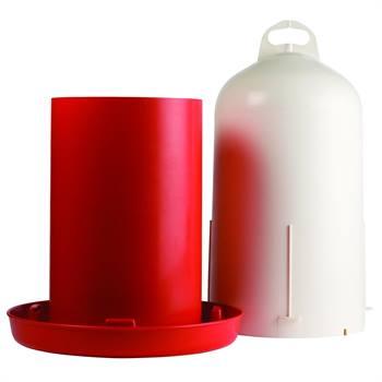 Abbeveratoio a doppio cilindro, capacità 12 l