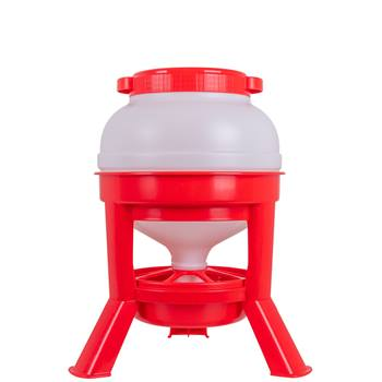 Mangiatoia automatica a sifone per pollame, 15 kg