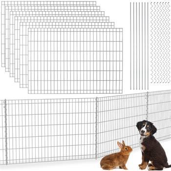 Recinzione ad innesto VOSS.garden 80 x 690 cm, recinto da giardino, per cani, recinto di protezione per stagni