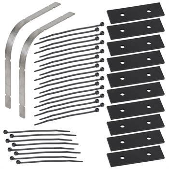 Set per l'installazione dei cavi riscaldanti VOSS.eisfrei: protezione antipiega in acciaio inossidabile + supporto + connettori