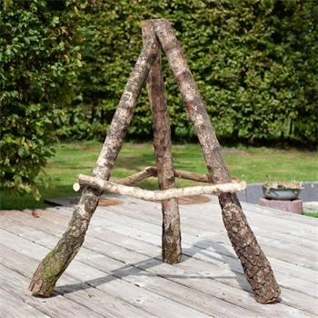 Sostegno per casetta per uccelli, in legno di betulla, leggero, 110 cm
