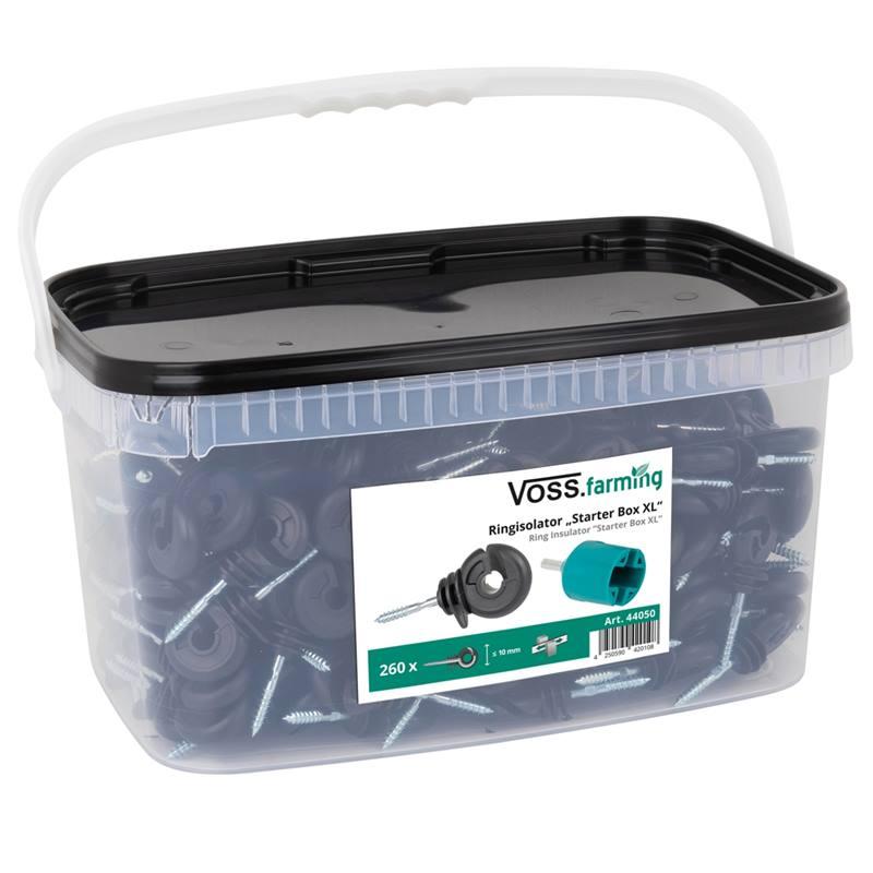 44050-3-kit-starter-box-xl-voss-farming-isolatore-ad-anello-260-pz-mandrino-in-plastica-cartello-di-