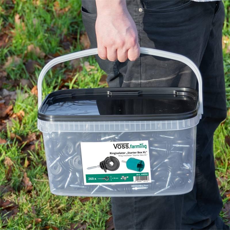 44050-4-kit-starter-box-xl-voss-farming-isolatore-ad-anello-260-pz-mandrino-in-plastica-cartello-di-