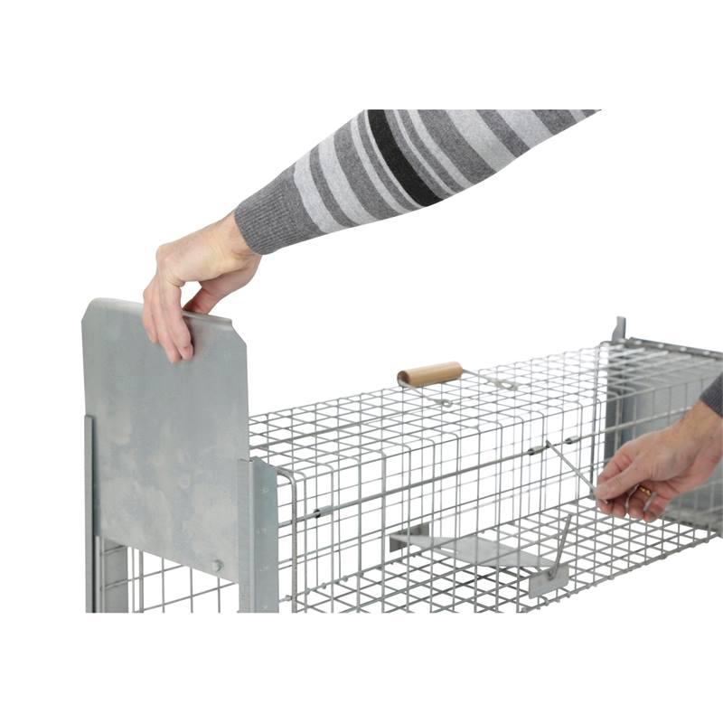 Caso di animali vivi caso martora caso stable trappola filo 102 x 26 x 26 cm petigi