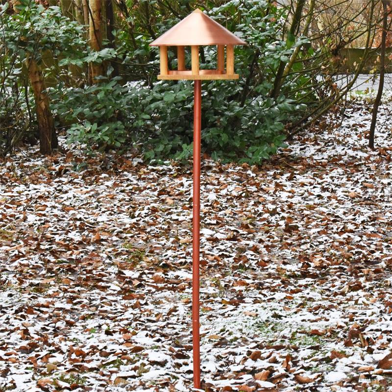 930126-3-casetta-per-uccelli-copenaghen-con-tetto-in-rame-design-danese-altezza-155-cm-con-palo-di-s
