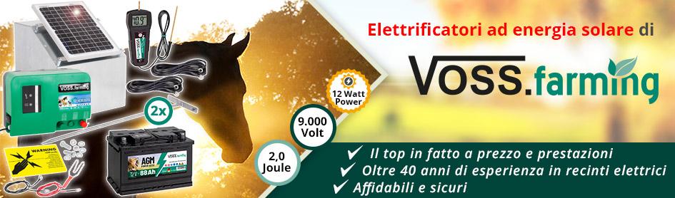 Elettrificatori ad Energia Solare