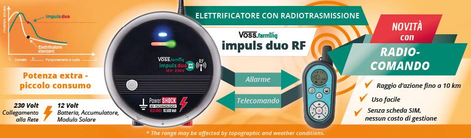 Elettrificatori con Telecomando
