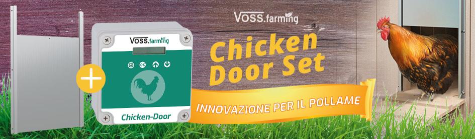 Porta automatica per pollaio