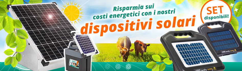 Risparmia sui costi energetici con i nostri dispositivi solari