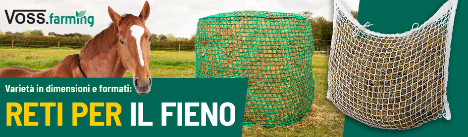Voss.farming - Reti per Fieno varietà in dimensioni e farmati