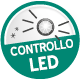 Controllo con LED