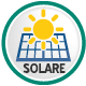 Adatto al funzionamento ad energia solare