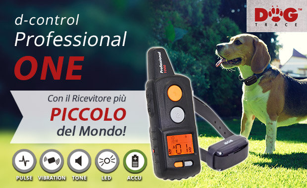 DogTrace professional One per cane